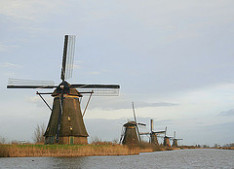 Tipically Dutch mills
